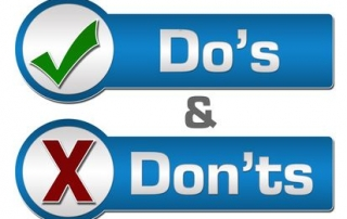 Eyecare Do's and Don'ts